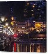 White Rock Pier Canvas Print