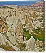 Who Lives Here In Cappadocia-turkey  Canvas Print