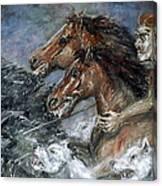 Wild Hunt Canvas Print