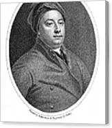William Cheselden Canvas Print