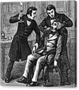 William T.g. Morton Canvas Print