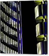 Willis Group And Lloyd's Of London Abstract Canvas Print