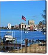 Wilmington Waterfront Skyline Canvas Print