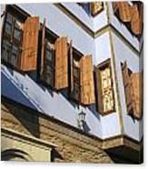Window Shutters Canvas Print