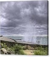 Winds At Point Betsie Canvas Print
