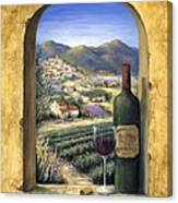 Wine And Lavender Canvas Print