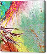 Modern Abstract Diptych Part 2 Canvas Print