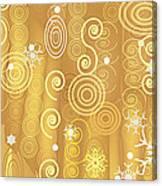 Winter Dress Detail Canvas Print
