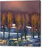 Winter Fantasy Canvas Print