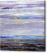 Winter Light Hauxley Haven Canvas Print