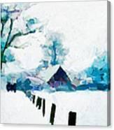 Winter Tales Tnm Canvas Print
