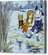 Wizard Of Oz, 1900 Canvas Print