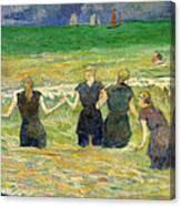 Women Bathing Canvas Print
