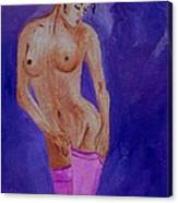 Women Nude Canvas Print