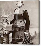 Women's Fashion, 1880s Canvas Print