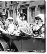 Women's Suffrage, 1913 Canvas Print