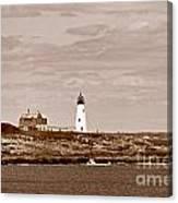 Wood Island Lighthouse Canvas Print