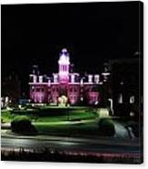 Woodburn Hall At Night Canvas Print
