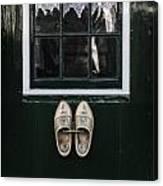 Wooden Shoes Canvas Print