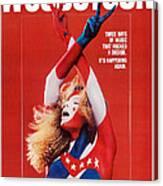 Woodstock, Us Poster Art, 1970 Canvas Print