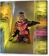 World Ice Art Championships, Child Canvas Print