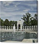 World War 2 Memorial Canvas Print