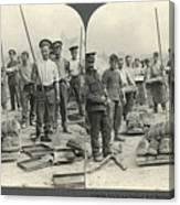World War I Bakers Canvas Print