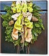Wreath 30 Canvas Print