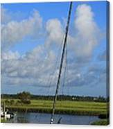 Wrightsville Beach Tidal Marsh Canvas Print