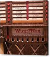 Wurlitzer Player Canvas Print