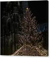 Xmas In Cologne Canvas Print