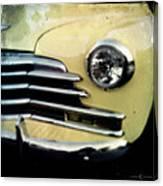 Yellow Chevrolet Canvas Print