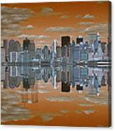 Yesterday Reflexions Canvas Print