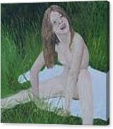 Young Naturist Canvas Print