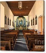 Ysleta Mission Of El Paso Texas Canvas Print
