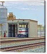 Foster Farms Locomotives Canvas Print