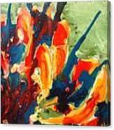 Zenmoksha Floers Canvas Print