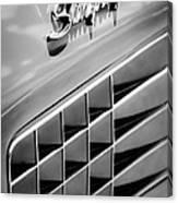 1972 Chevrolet Corvette Stingray Emblem Canvas Print