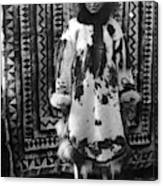 Alaska Eskimo Woman Canvas Print