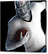 American Football Player Canvas Print
