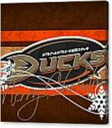 Anaheim Ducks Canvas Print
