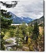 Banff Alberta Canada Canvas Print
