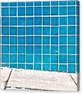 Blue Tiles Canvas Print
