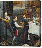 Breugel, Jan, The Elder, Called Velvet Canvas Print