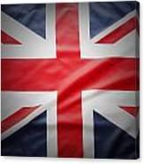 British Flag 17 Canvas Print