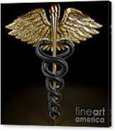 Caduceus Canvas Print
