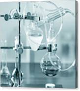 Chemistry Experiment In Lab Canvas Print