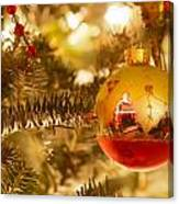 Christmas Tree Ornaments Canvas Print