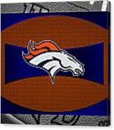 Denver Broncos Canvas Print