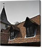 Greensted Church Canvas Print